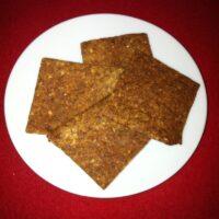 Feine Chia-Zimt-Cracker