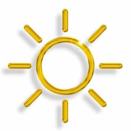 Sonne Cartoon Bild