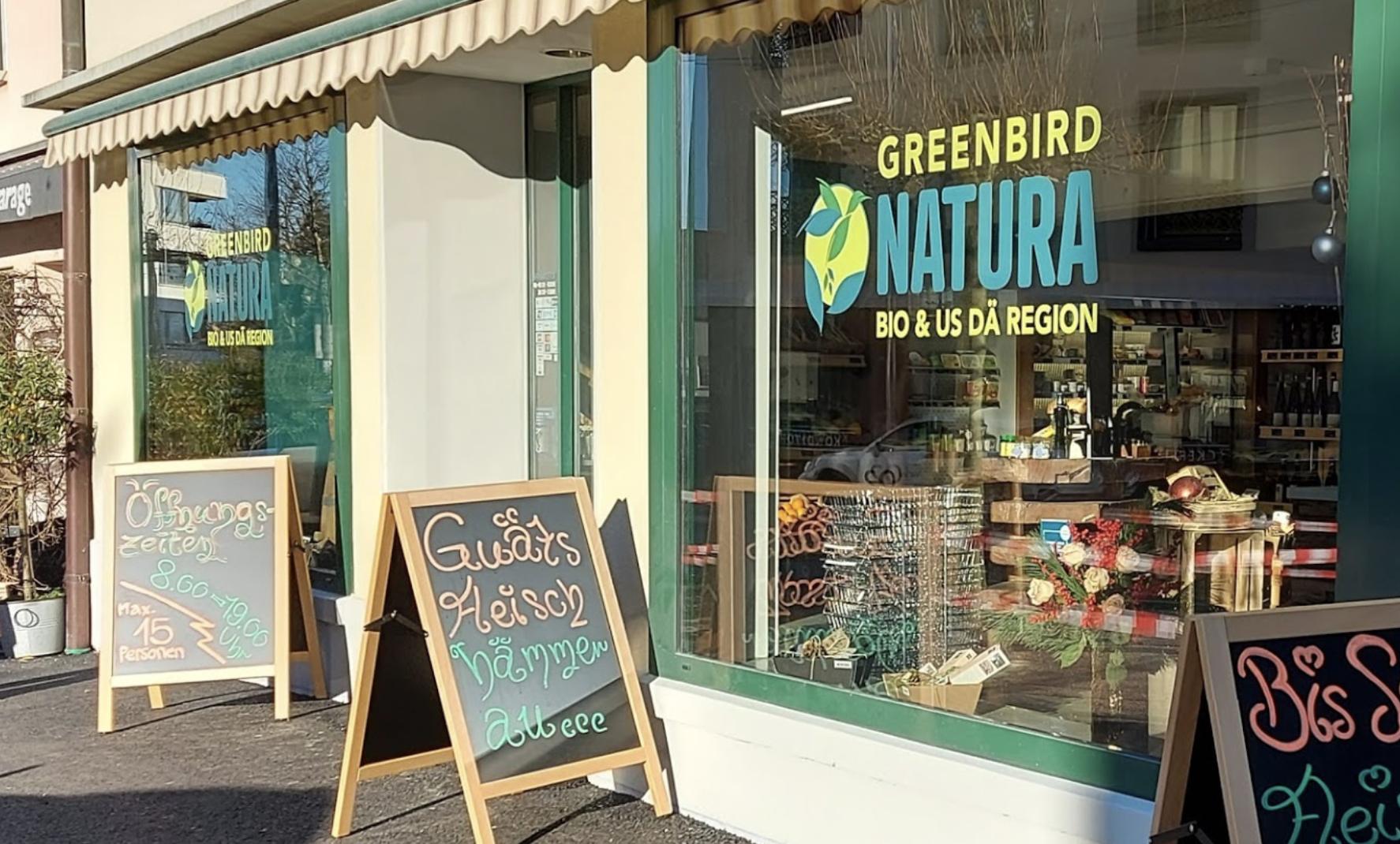 greenbird natura lachen