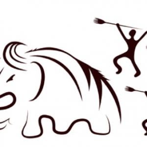 Mammut Jagd