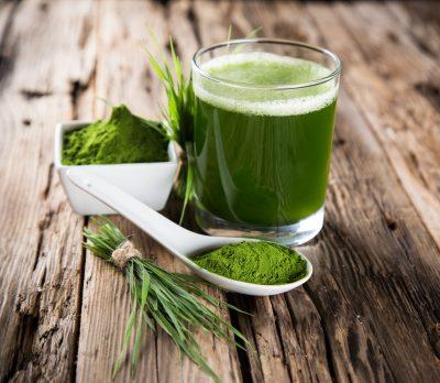 Entgiftung Entsaeurung entschlacken Detox mit chlorella spirulina weizengras