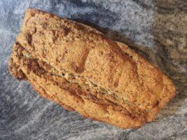 Leckeres Brot ohne Getreide und Milch