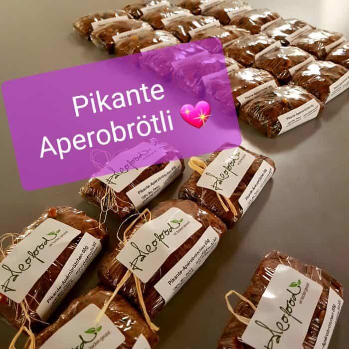 Paleofood Pikante Aperobroetchen