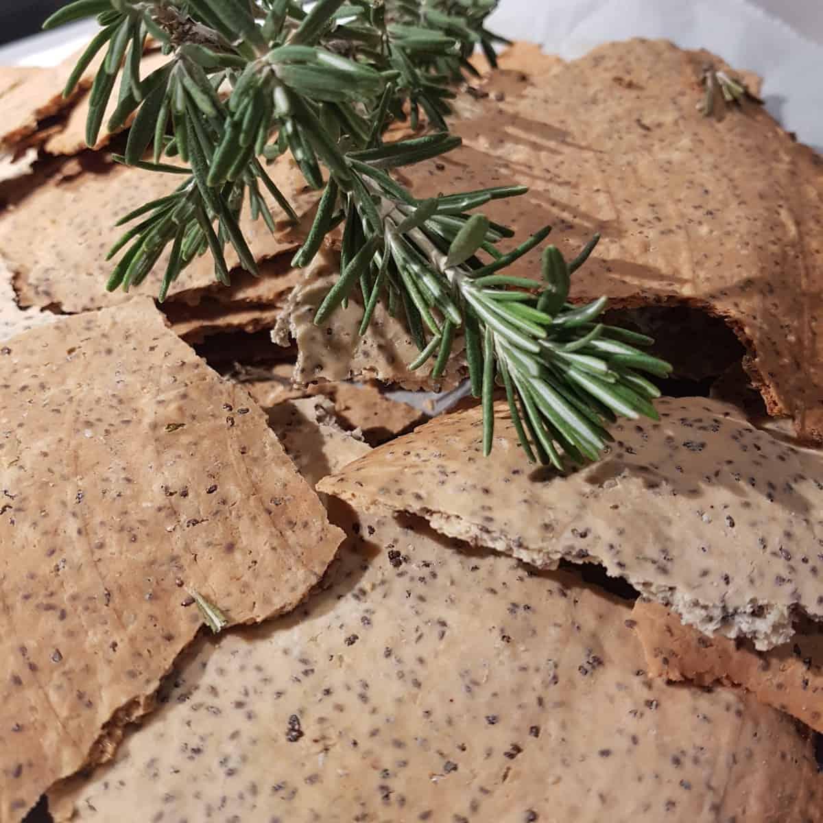 Paleofood - Chia Mandel Cracker